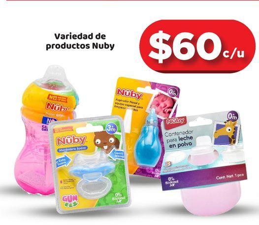 Oferta de Biberones Nuby por $60
