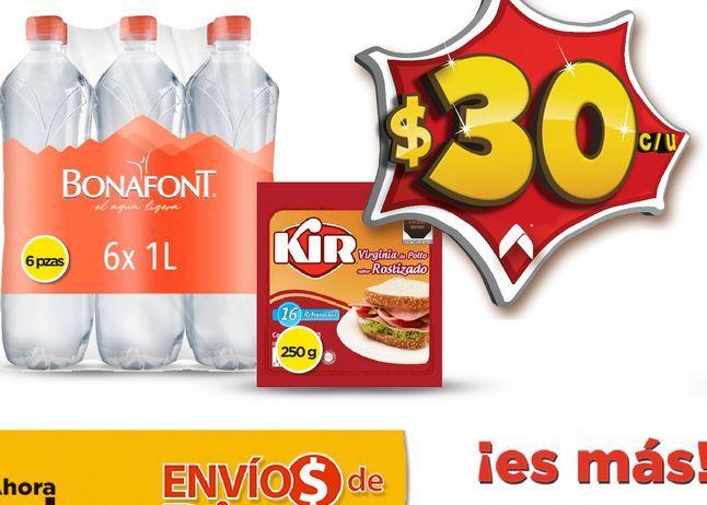 Oferta de Agua bonafont por $30