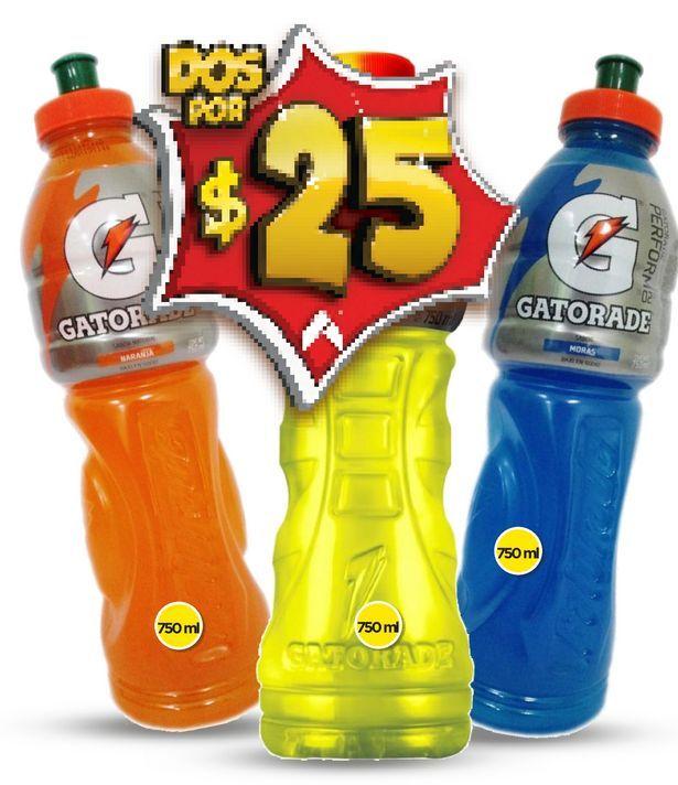 Oferta de Bebida isotónica Gatorade por $25