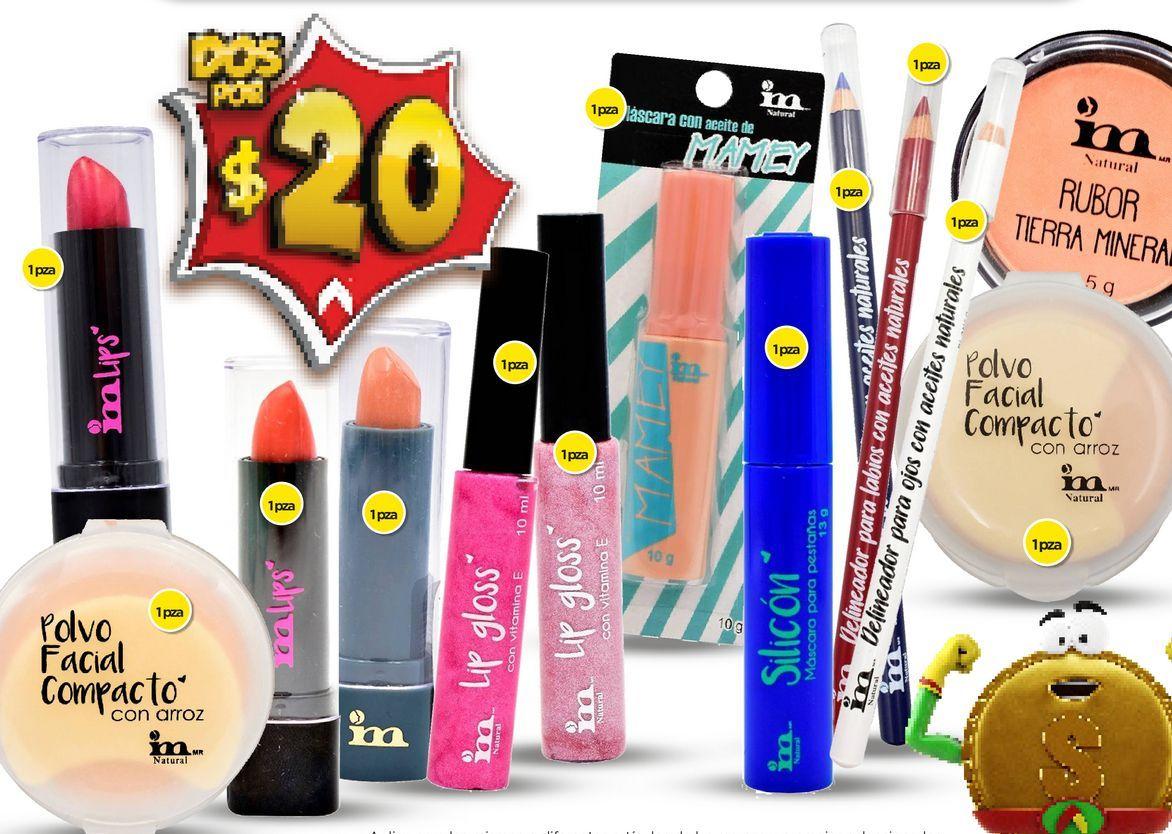 Oferta de Cosmeticos IM por $20