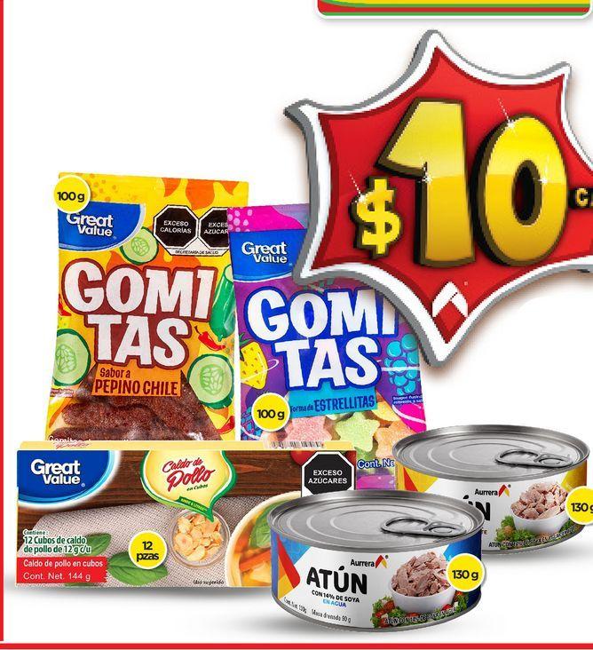 Oferta de Gomitas Great Value por $10