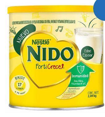 Oferta de NIDO LECHE EN POLVO FORTICRECE C/2.04KG por