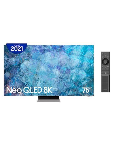 Oferta de Pantalla Samsung QLED Smart TV de 75 Pulgadas 8K QN75QN900AFXZX por $154999