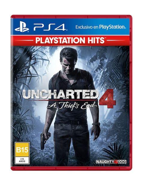Oferta de PlayStation 4 Uncharted 4: A Thief's End por $449.1