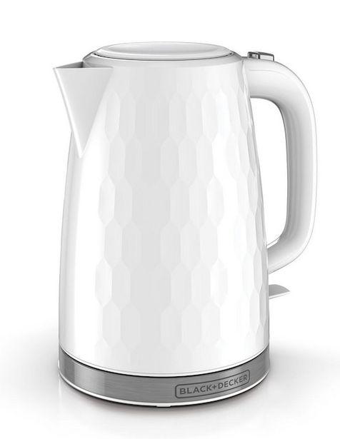 Oferta de Hervidor Black & Decker HoneyComb 1.7 litros por $993.65