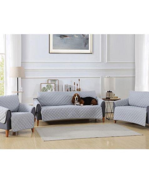 Oferta de Funda para sofá 3 piezas Haus Elite gris por $2474.25