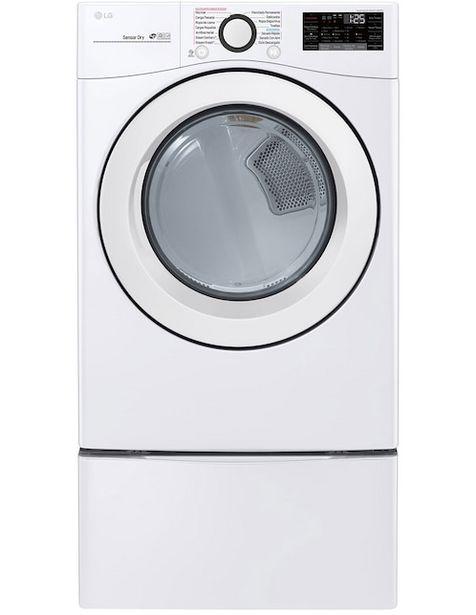 Oferta de Secadora de gas LG 20 kg con 10 ciclos por $14661.86