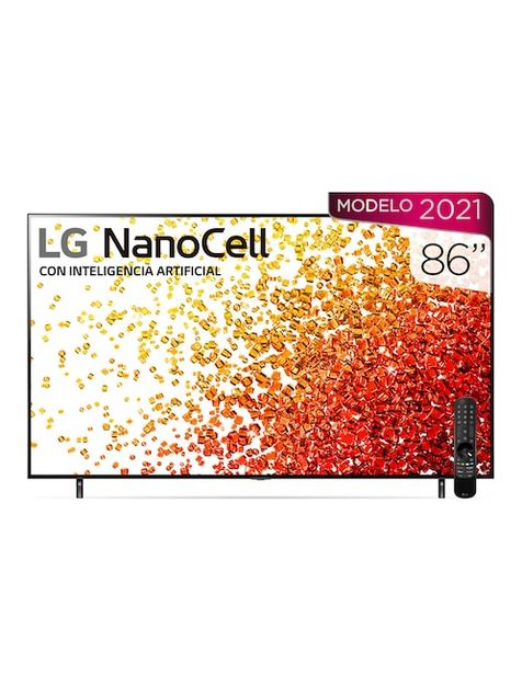 Oferta de Pantalla LG NanoCell Smart TV de 86 Pulgadas Dolby Atmos/HDR Dolby Vision  86NANO90SPA por $47999