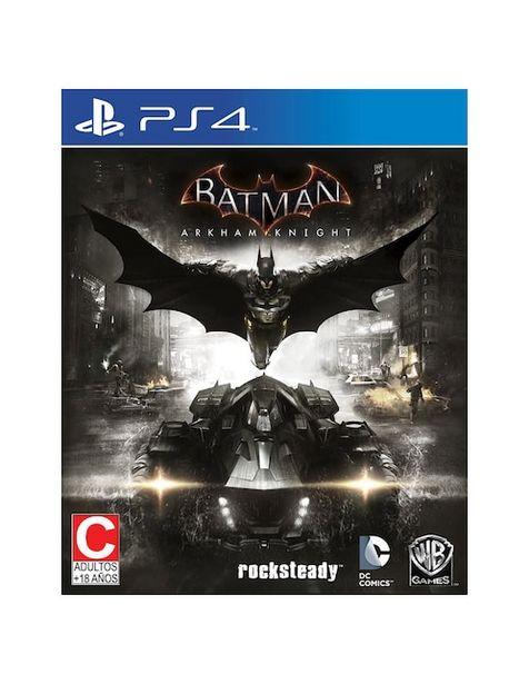 Oferta de Batman Arkham Knight PlayStation 4 por $314.1