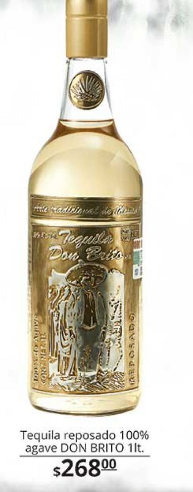 Oferta de Tequila Don Brito por $268