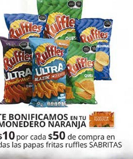 Oferta de Papas fritas Ruffles por