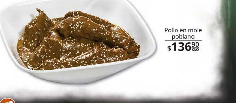Oferta de Mole con pollo por $136.9