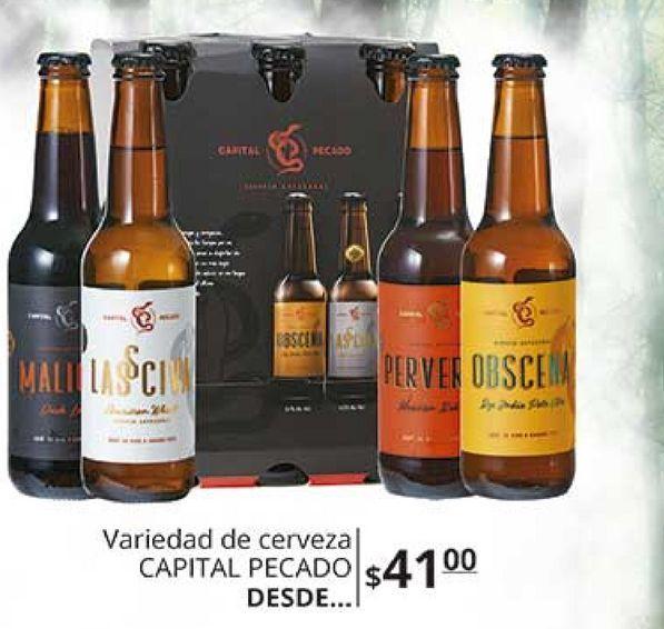 Oferta de Cerveza pecado capital por $41