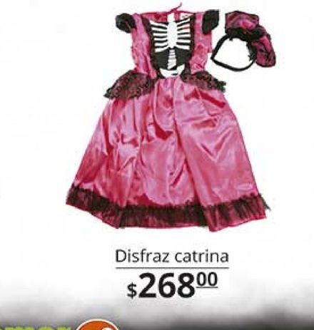 Oferta de Disfraces catrina por $268