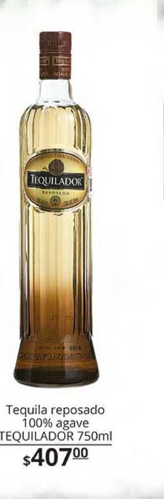 Oferta de Tequila reposado tequilador  por $407