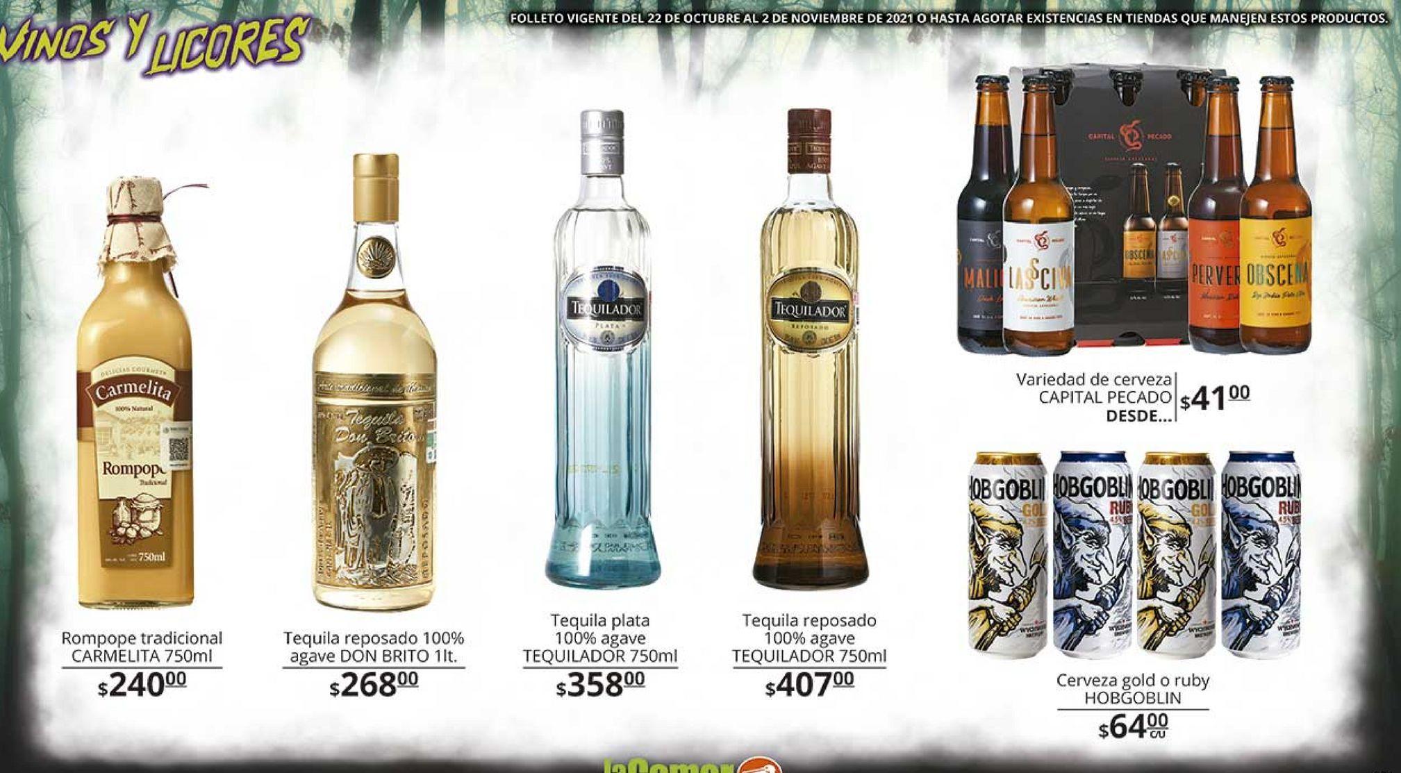 Oferta de Tequila por