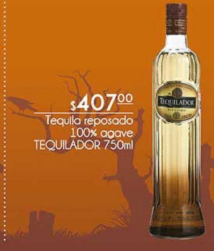 Oferta de Tequila reposado 100% agave Tequilador 750ml por $407
