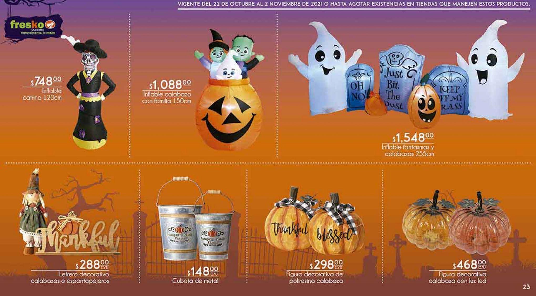 Oferta de Decoración de Halloween por