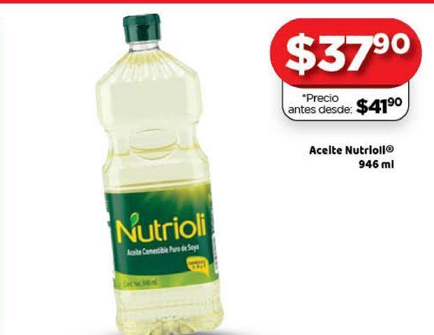 Oferta de Aceite Nutrioli 946ml por $37.9