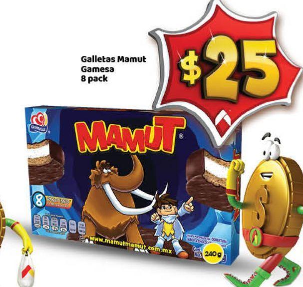 Oferta de Galletas Mamut 8 pack por $25