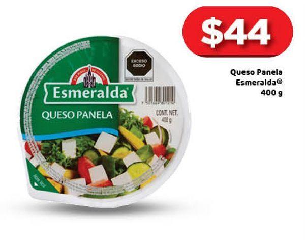 Oferta de Queso panela Esmeralda 400g por $44