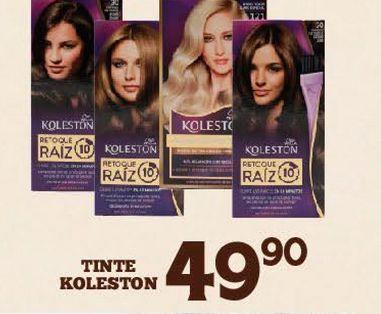 Oferta de Tintes para cabello Koleston por $49.9