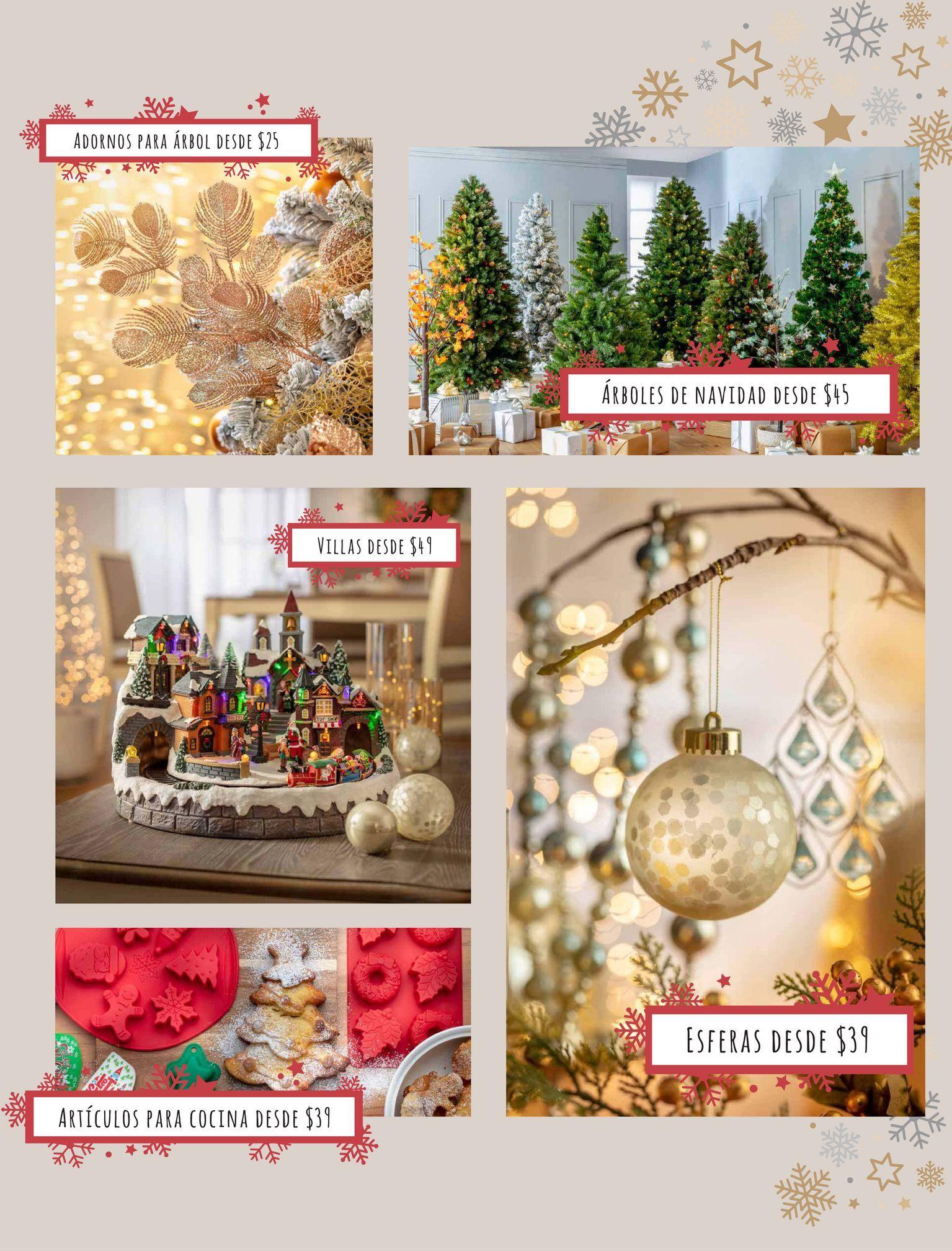 Oferta de Decoración de Navidad por