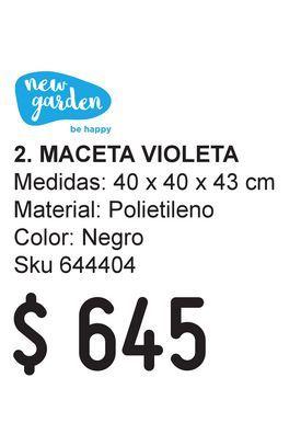 Oferta de Mesa Acacia 63X63X28 por $645